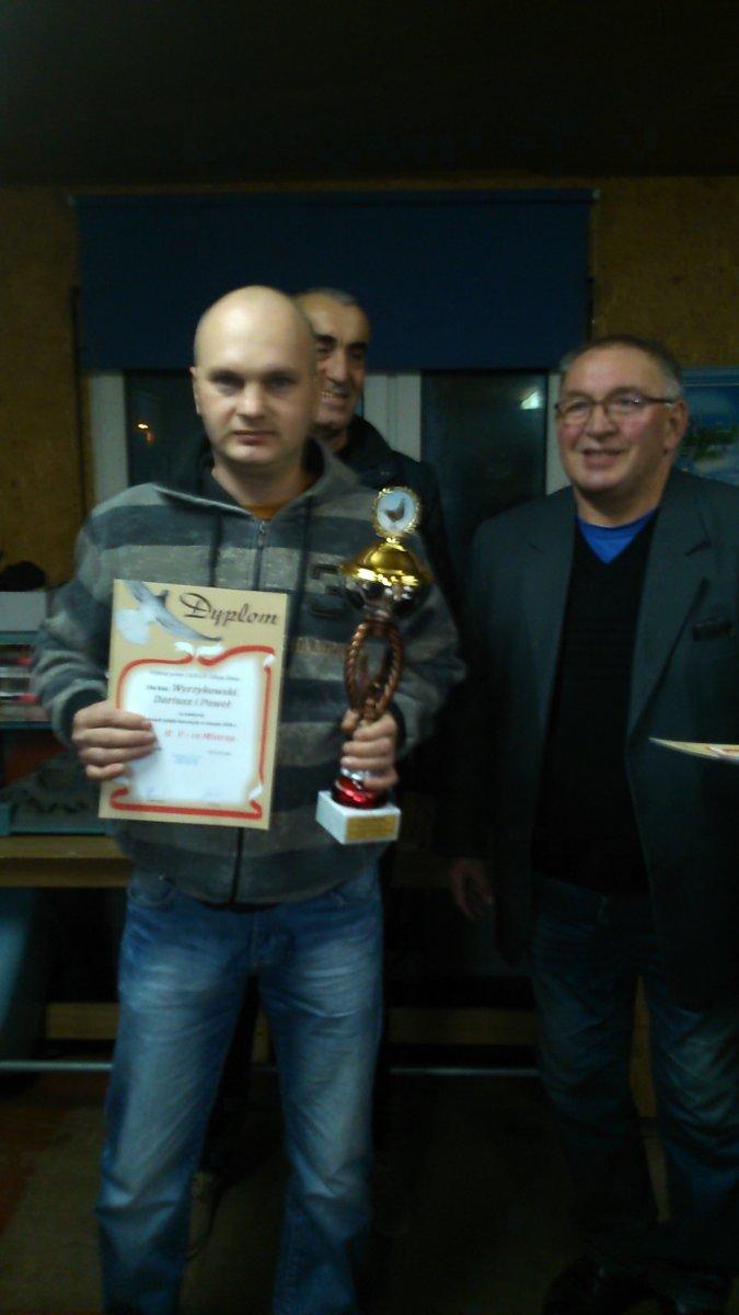 Rozdanie nagród sekcja Iława 2016