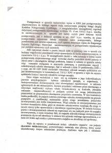 Postanowienie Sądu Rejonowego w Olsztynie